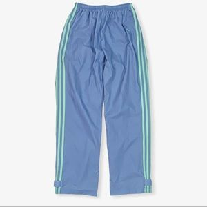 ADIDAS Girl's Retro Workout Blue Pants XL